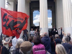 Manifestation contre la réforme de l'assurance chômage et pour de nouveaux droits sociaux @ En haut des allées J Jaurès