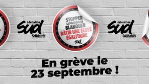 Grève éducation le 23 septembre @ Toulouse