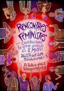 Rencontres féministes construisons la grève du 8 mars !
