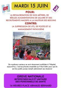 Manifestation et grève pour les services publics @ place Arnaud Bernard